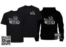 Shirt mit Motiv Honda Varadero SD01