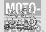 Yamaha fzs fazer 1000 600 MJ 1997