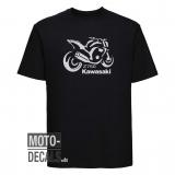 T-Shirt Motiv Kawasaki Z750 (2007)