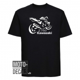 T-Shirt Motiv Kawasaki Z750 (2006)