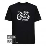 T-Shirt Motiv Kawasaki Z1000 (2007)
