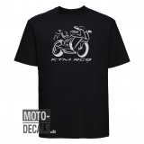 T-Shirt mit Motiv KTM RC8