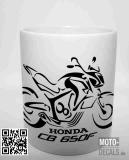 Tasse mit Motiv Honda CB650F