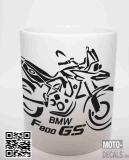 Tasse mit Motiv BMW F800 GS