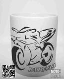 Tasse mit Motiv Ducati 916/748/996/98