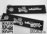 Filz-Schlüsselanhänger mit Motiv Honda Varadero SD01