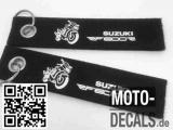 Filz-Schlüsselanhänger mit Motiv Suzuki RF 600 R