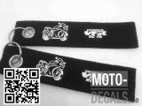 Filz-Schlüsselanhänger mit Motiv Honda VFR RC 79